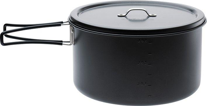 Edelrid Camping-Geschirr »Ardor Big Pot non stick« in schwarz