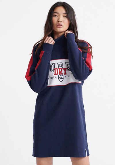 Superdry Sweatkleid »FUNNEL SPORTY SWEAT DRESS« im Colorblocking Design