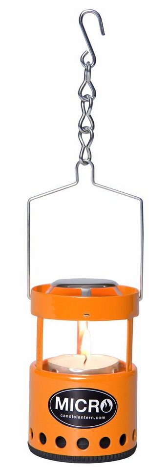 UCO Camping-Beleuchtung »Kerzenlaterne Micro orange« in orange