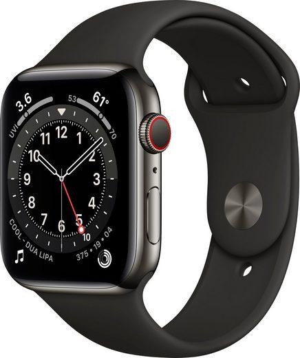 Apple Watch Series 6 Smartwatch (Watch OS), inkl. Ladestation (magnetisches Ladekabel)