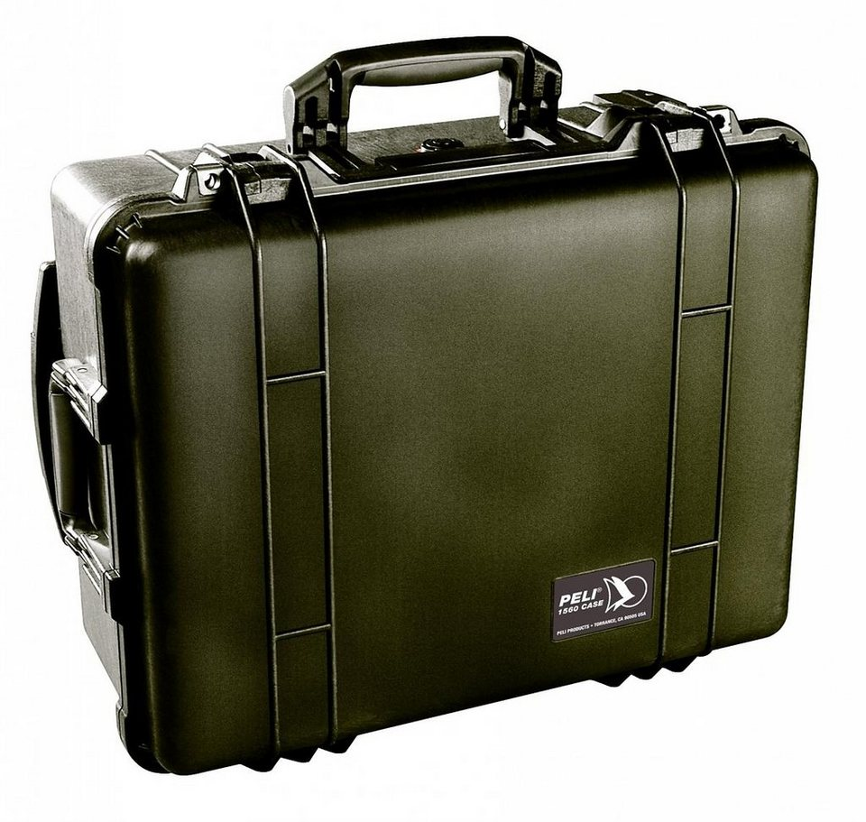 Peli Campingtruhe & -Kiste »Flightcase 1560 ohne Schaum« in schwarz