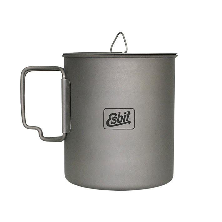 Esbit Camping-Geschirr »Titan Topf« in grau
