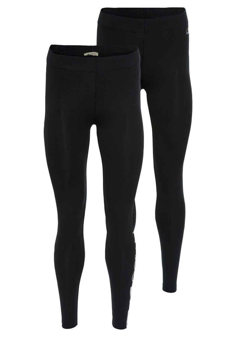 Ocean Sportswear Leggings (Packung, 2er-Pack) mit Kontraststreifen und Logodruck