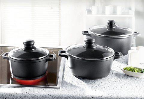 Aluguss-Topf-Set, 6tlg. - Meine Küche