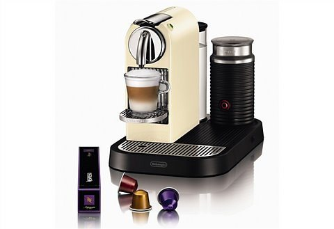 de 39 longhi nespresso kapselmaschine citiz milk en 266 cwae mit integriertem milchaufsch umer. Black Bedroom Furniture Sets. Home Design Ideas