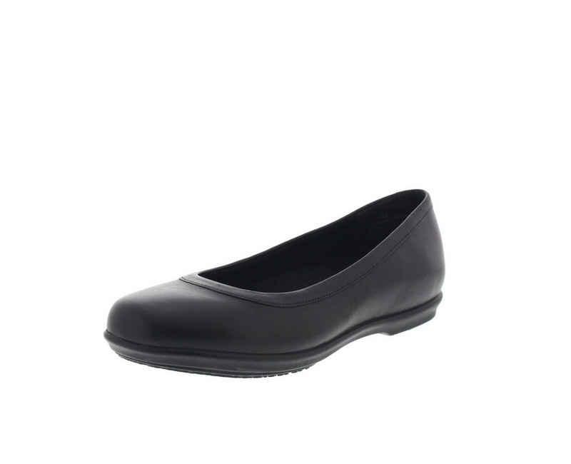 Crocs »Grace Flat« Ballerina Schwarz (Black)