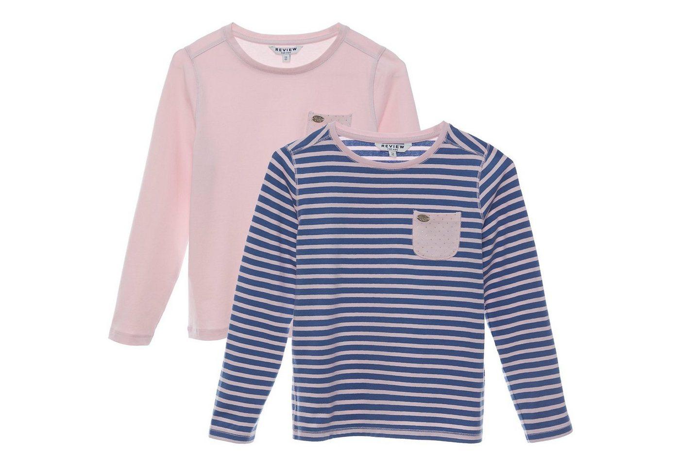 review for kids -  Langarmshirt für Mädchen