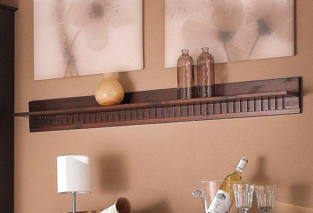 Regale - Home affaire Wandboard »Lisa«, aus schönem massivem Kiefernholz, in unterschiedlichen Farbvarianten  - Onlineshop OTTO