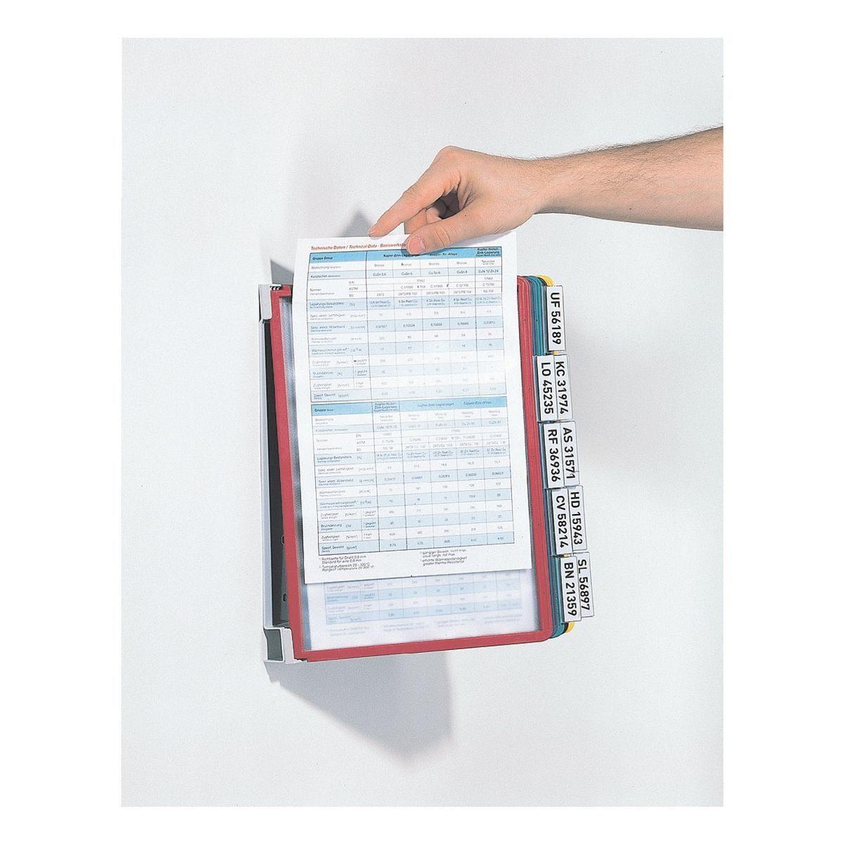 Durable Sichttafelwandhalter »Vario® Wall 10«