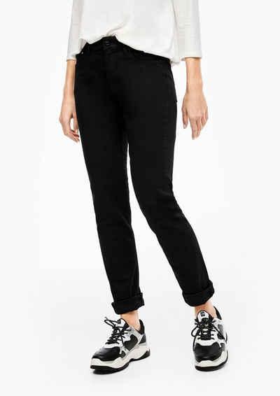 s.Oliver 5-Pocket-Jeans »Denim« Label-Patch