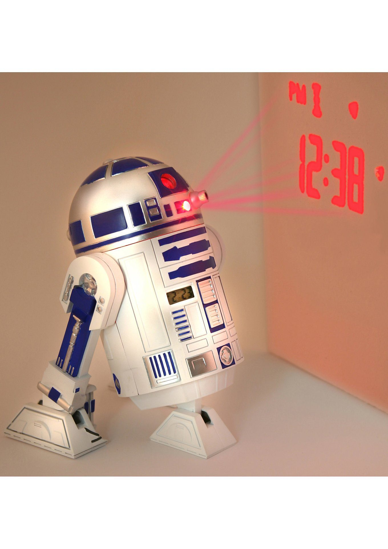 JOY TOY, Wecker mit Projektion »R2D2«, Star Wars«