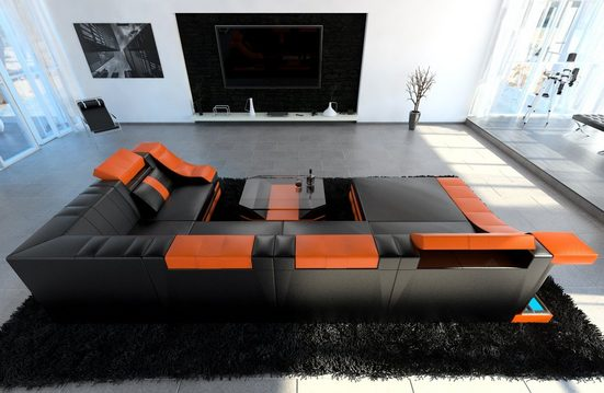 Sofa Dreams Sofa »Turino«, U Form