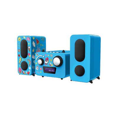 """BigBen »Stereo Music Center MCD11""""Einhorn"""" (blau)« Stereoanlage"""