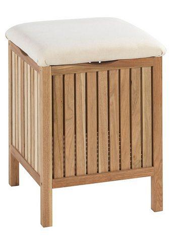 Badhocker aus Holz & Metall » online kaufen | OTTO