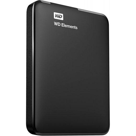 "Western Digital »Elements Portable - externe Festplatte - schwarz« SSD-Festplatte 2,5"" (2 TB)"