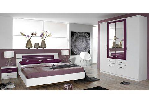 rauch Schlafzimmer-Set »Burano«, Bestehend aus Bett, 2 Nachttischen und  Kleiderschrank online kaufen | OTTO