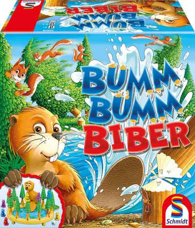 Schmidt Spiele Spiel, Laufspiel »Bumm Bumm Biber«