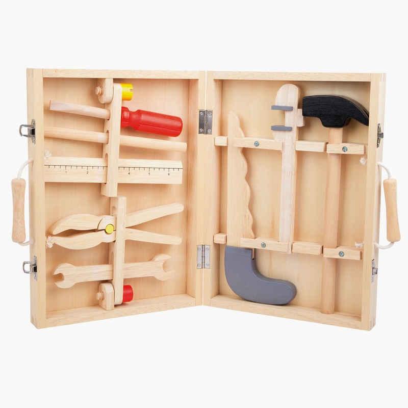 Small Foot Kinder-Werkzeug-Set »Werkzeugkoffer«, (13-tlg)