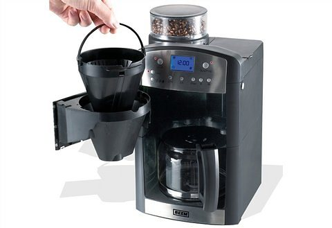 BEEM Kaffeemaschine 1.115.617 Fresh Aroma Perfect 2, mit Glaskanne in schwarz