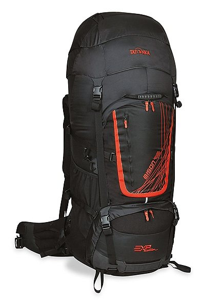 Tatonka Sport- und Freizeittasche »Bison 75 EXP Backpack« in schwarz