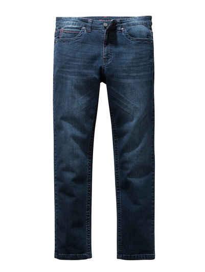 Babista Stretch-Jeans mit Kontrastnähten