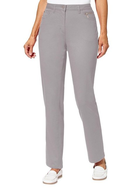 Hosen - Casual Looks Stretch Jeans › grau  - Onlineshop OTTO
