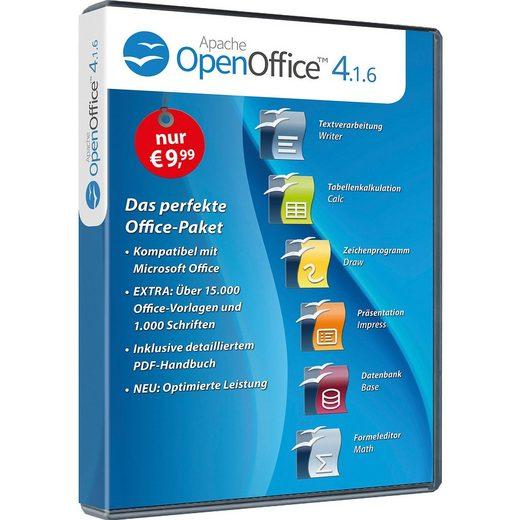 PC Openoffice 4.1.6 Standard