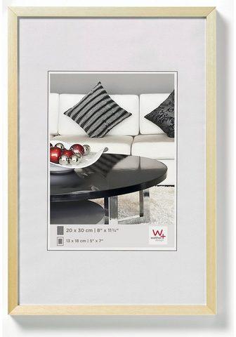Walther Bilderrahmen »Chair Alurahmen« (1 vien...