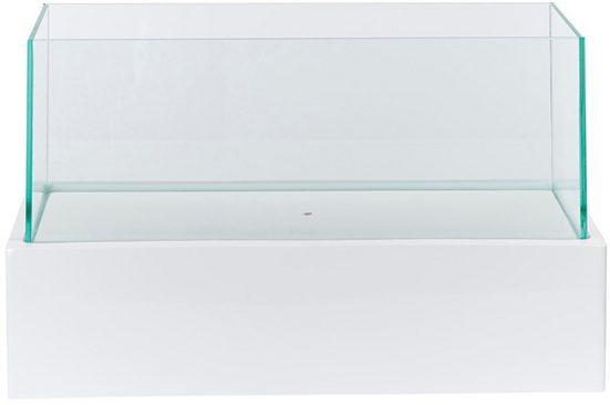 Windlicht »Glossy« (1 Stück), aus Kunststoff, Aluminium und Glas