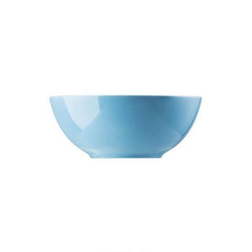 Thomas Porzellan Müslischüssel »Sunny Day Waterblue Müslischale 15 cm«, Porzellan, (1-tlg)