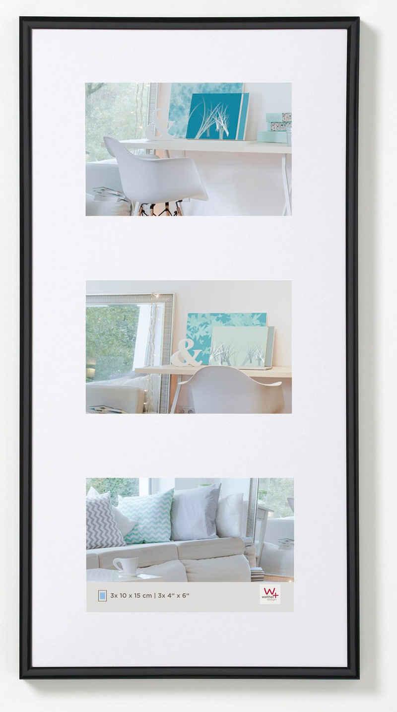 Walther Bilderrahmen »New Lifestyle Kunststoffrahmen«, für 5 Bilder (1 Stück)