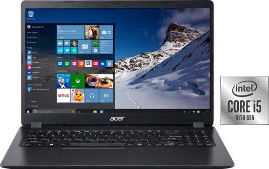 Acer Aspire 3 Notebook (39,62 cm/15,6 Zoll, Intel Core i5, UHD Graphics, - GB HDD, 1000 GB SSD, inkl. Office-Anwendersoftware Microsoft 365 Single im Wert von 69 Euro)