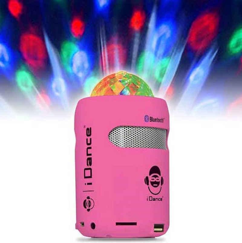 iDance SB1 pink Bluetooth-Lautsprecher