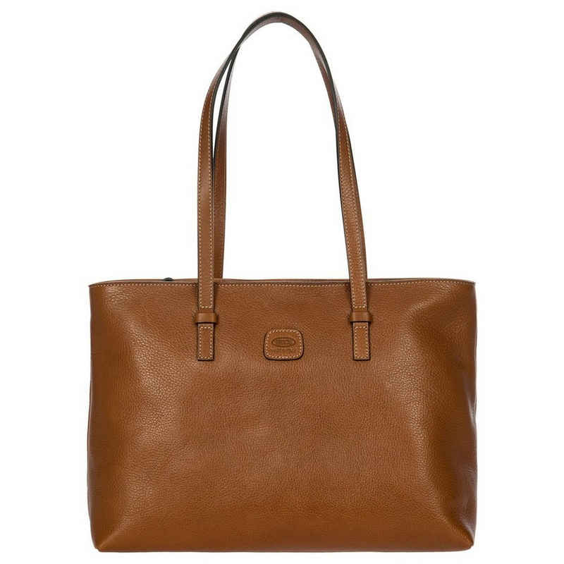 Bric's Handtasche »Life Pelle Vittoria Borsa Tote Bag 35 cm« (1-tlg)