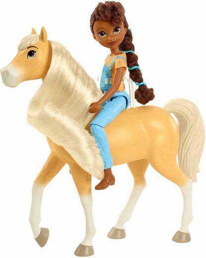 Mattel® Anziehpuppe »Spirit, Pru mit Pferd Chica Linda«