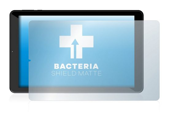 upscreen Schutzfolie »für Logicom La Tab 124 HD«, Folie Schutzfolie matt entspiegelt antibakteriell