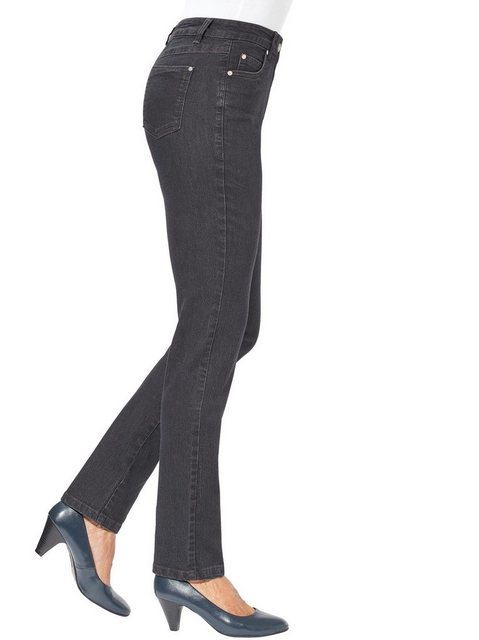 Hosen - Ambria 5 Pocket Jeans › grau  - Onlineshop OTTO