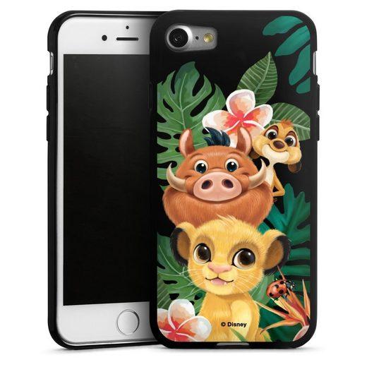 DeinDesign Handyhülle »Simba, Timon, Pumba transparent« Apple iPhone 7, Hülle Timon und Pumbaa König der Löwen Disney