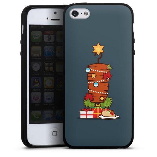 DeinDesign Handyhülle »Weihnachts-Döner« Apple iPhone SE (2016-2019), Hülle Essen Fast Food Türkei