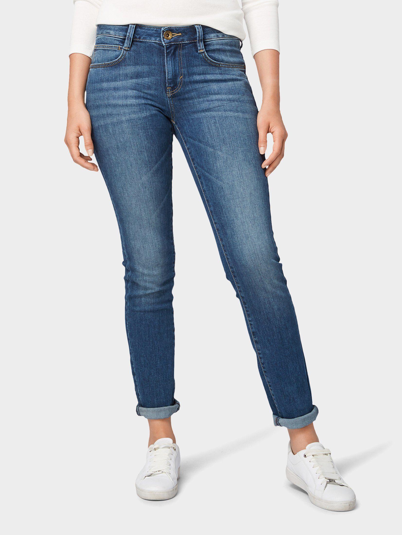 TOM TAILOR Slim fit Jeans »Alexa Slim Jeans« | OTTO