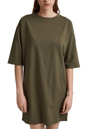 edc by Esprit Jerseykleid als Oversized Shirt oder als Minikleid tragbar