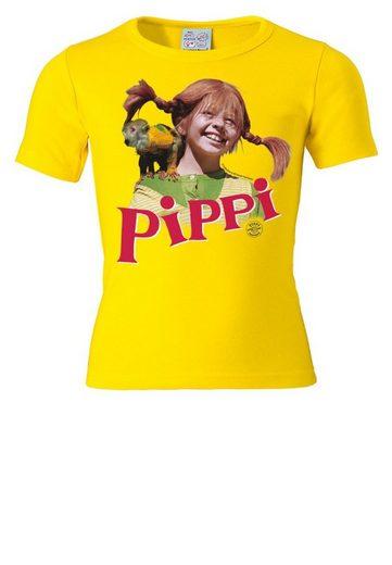 LOGOSHIRT T-Shirt mit niedlichem Frontdruck »Pippi Langstrumpf - Herr Nilsson«