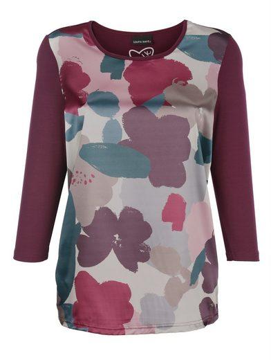 Laura Kent Print-Shirt mit floralem Druck