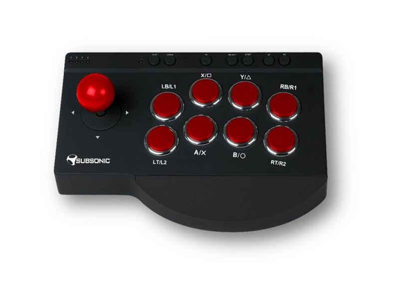 Subsonic »Arcade-Joystick für Playstation3/Playstation4/XBOX ONE und PC« Arcade-Joystick