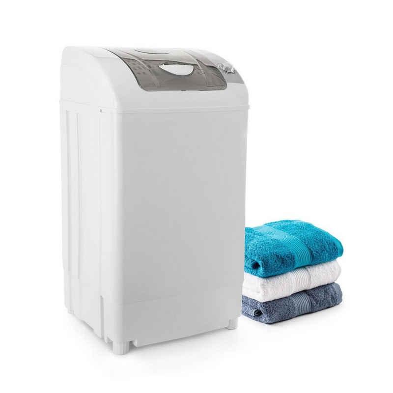ONECONCEPT Wäscheschleuder Top Spin Family Wäscheschleuder 3,8kg Timer weiß