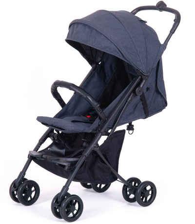 Knorrbaby Kinder-Buggy »Travel-Easy Fold, Grau-Melange«, faltbar; Kinderwagen, Buggy, Sportwagen, Sportbuggy, Kinderbuggy, Sport-Kinderwagen