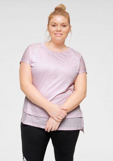 Reebok T-Shirt »TRAINING TEE« In großen Größen