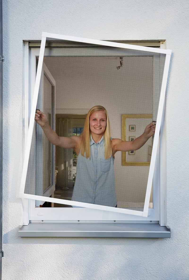 SCHELLENBERG Insektenschutz-Fenster »PLUS«, BxH: 100x120 cm, weiß