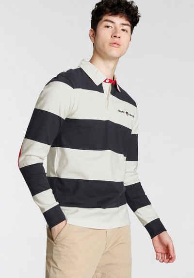 Gant Langarm-Poloshirt »D2. RETRO SHIELD HEAVY RUGGER«