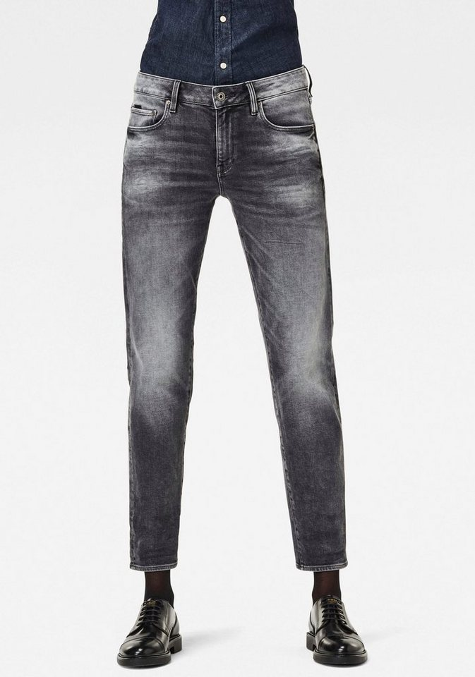 g-star raw -  Boyfriend-Jeans »Kate« mit authentischer Used Waschung